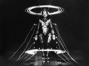 Maschinenmensch Fritz Langin elokuvasta Metropolis